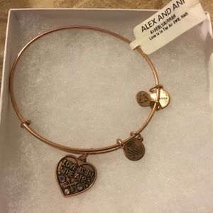 Alex and Ani Bracelet Love is In The Air
